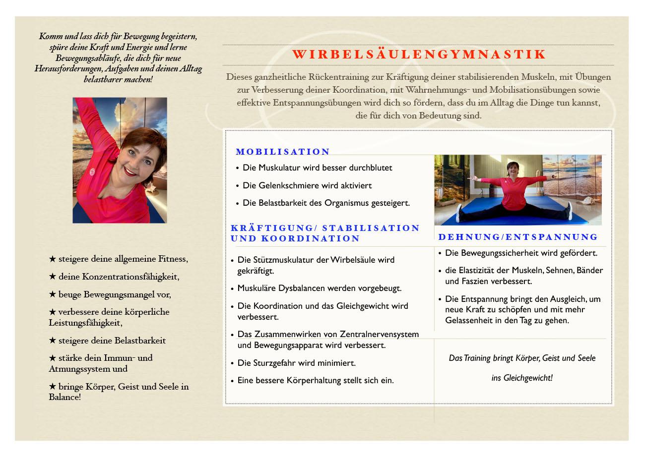 Christina Bodin - Präventionskurs WSG